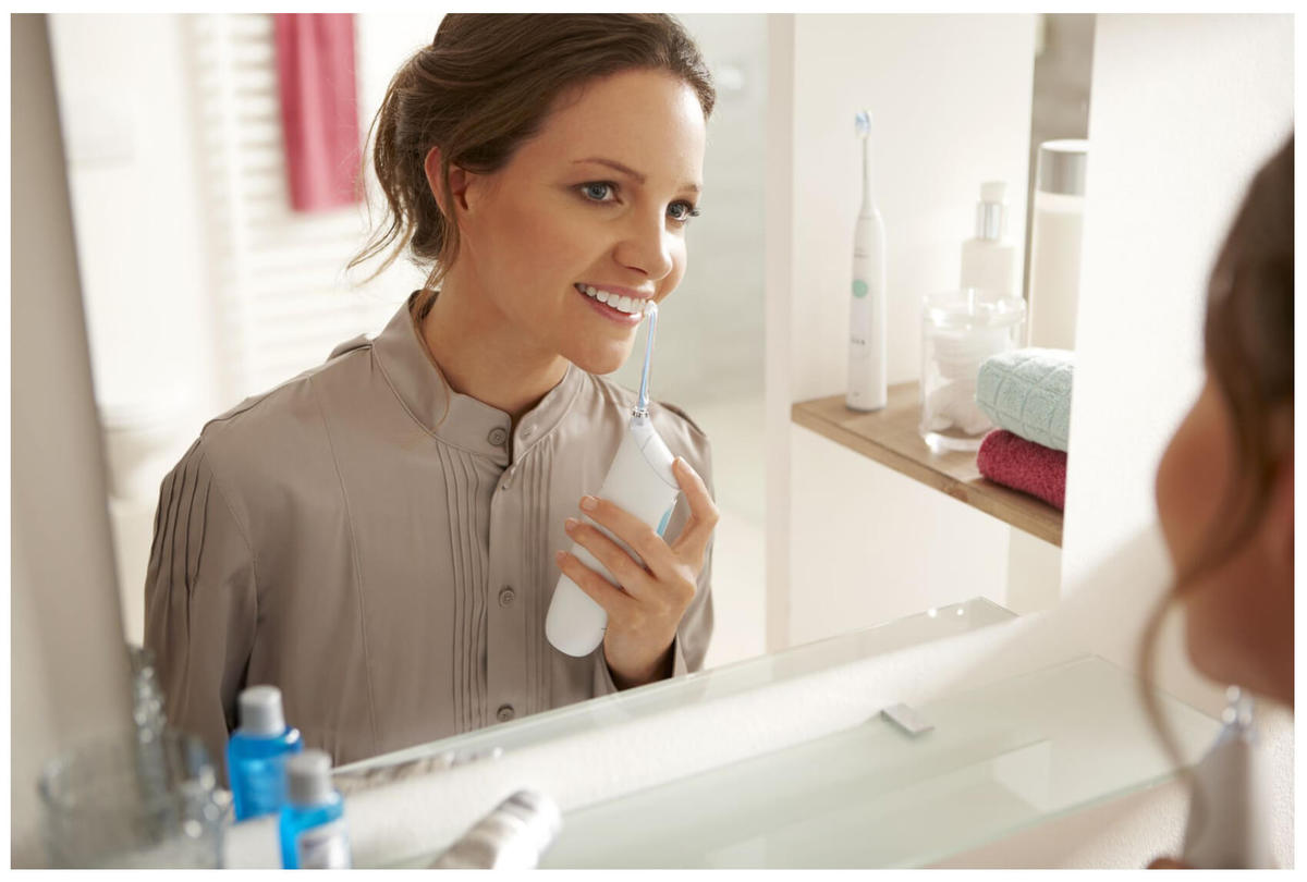 Waterpik teeth cleaning